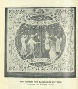 [1912] New banner for Lancashire district designed by Walter Crane