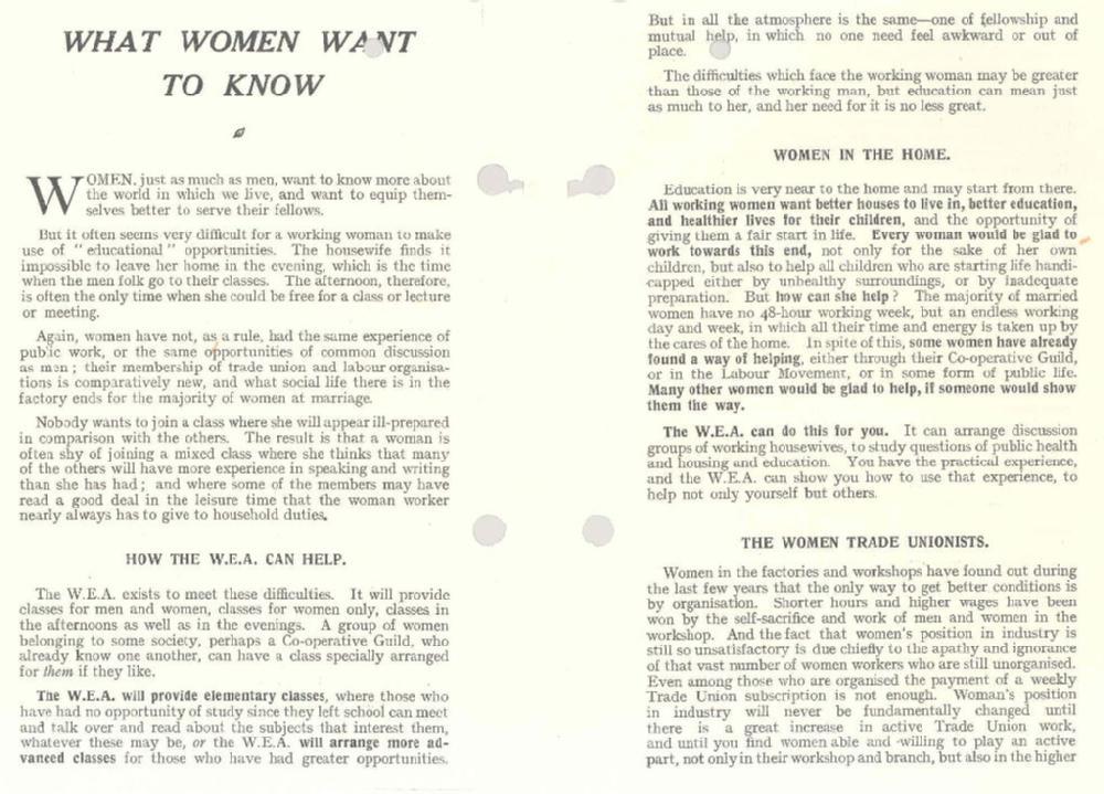 Gender, History and Politics in Britain (HI253)