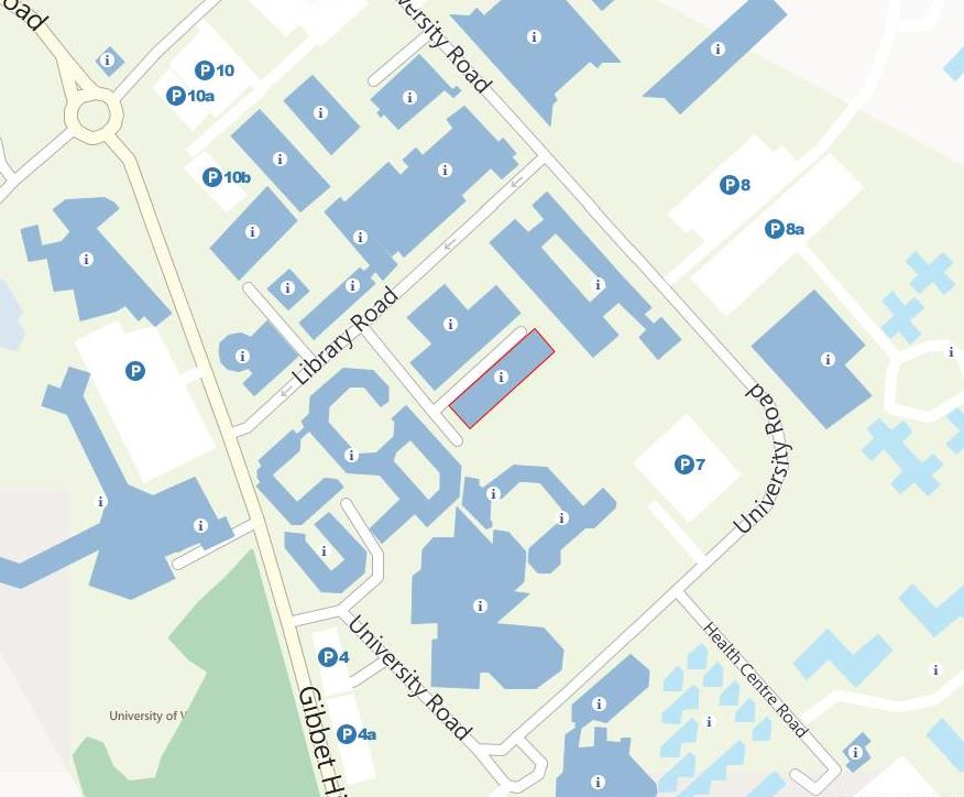 Interactive Map Warwick How to find us   Modern Records Centre, University of Warwick Interactive Map Warwick