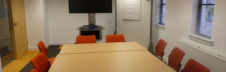 Interior of PG Hub Room 1