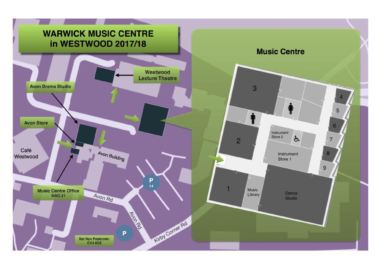 Warwick Practice Room Booking