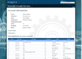 8. Your experiment list page allows you to see the status of all investigations in your account