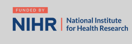 Funded and Supported by NHS National Institute for Health Research logo