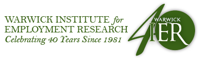 Warwick Institute for employment research logo