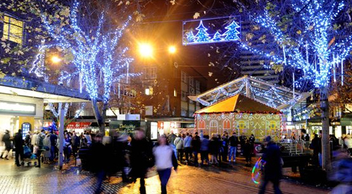 Coventry Christmas lights switch-on: Copyright Coventry Evening Telegraph