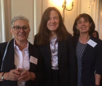 Sarah Cousins attends book launch
