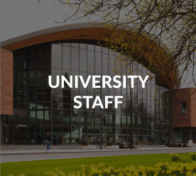 University staff image button and link to info for staff