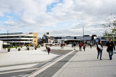 Student life image - Main piazza